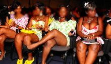 Ladies-dressed-in-mini-skirts-attending-a-church-service-in-South-Africa